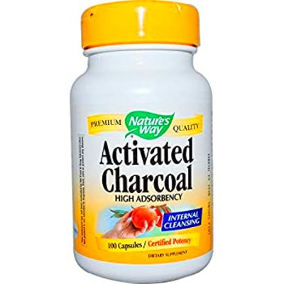 Amazon.com: Nature's Answer Activated Charcoal Vegetarian Capsules, 90-Count: Health & Personal Care