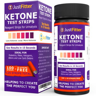 125 Ketone Ketosis Urinalysis Urine Test Strip Atkins Diet Weight Loss Diabetic | eBay
