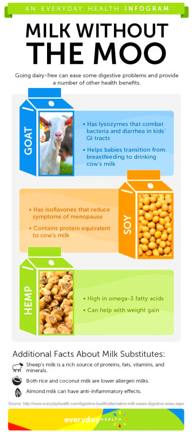 'Alternative' Milk Does a Body Good [Infographic ...