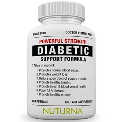 Diabetic Support Supplement - 28 VITAMINS Minerals & Herbs for Blood Sugar Suppo - Vitamins ...
