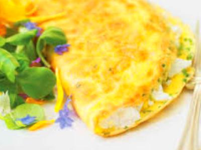 Cream Cheese Omelet Recipe and Nutrition - Eat This Much