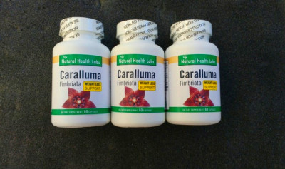 Caralluma Fimbriata Extract Pure Diet 3 Bottles 180 Capsules