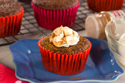 Ginger Spice Cupcakes | EverydayDiabeticRecipes.com