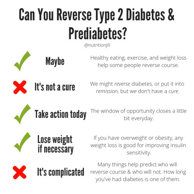 Can You Reverse Type 2 Diabetes and Prediabetes?