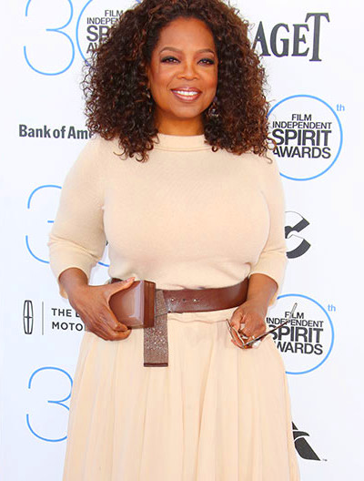 Oprah Winfrey shows off impressive weight loss on the red ...