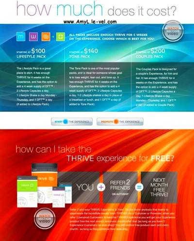 How Much Does it Cost   Le-Vel Mission to Thrive for better Health