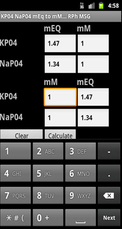 Phosphate Converter - Android Apps on Google Play