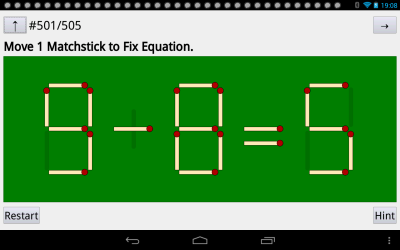 matchstick puzzle: MatchCalc - Android Apps on Google Play
