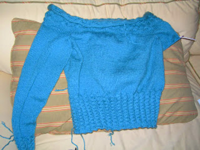 Knit Jones: Sweater Update...Short and Sweet
