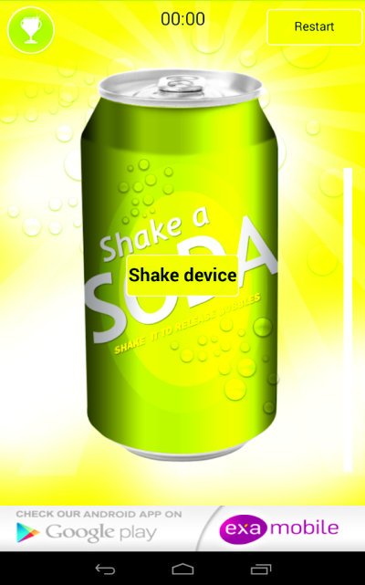 Shaking Soda - Android Apps on Google Play