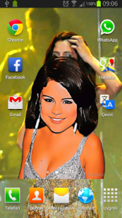 Special Live Wallpaper for Talented Singer Selena Gomez fans.