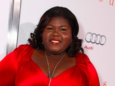 ... after she made her professional acting debut in the movie Precious