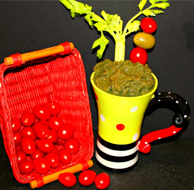The Hangover (A Healthy Bloody Mary) Superfood Smoothie - My Nutrition Advisor