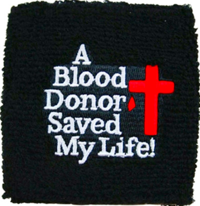 Again, if you have a story about receiving someone else's blood that ...
