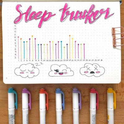 20 Sleep Trackers in your bullet journal for better sleep habits | My Inner Creative