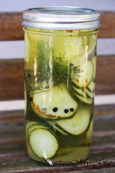 Easy Fermented Dill Pickles