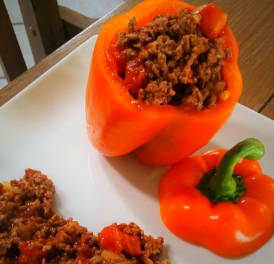 Mexican-style Stuffed Bell Pepper – Paleo Princessa