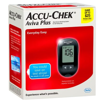 Accu-Chek Aviva Plus Diabetes Monitoring Kit | Walgreens