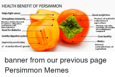HEALTH BENEFIT OF PERSIMMON Helps Fight Cancer Strengthens ...