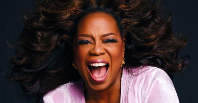 Oprah Covers InStyle Magazine in Versace