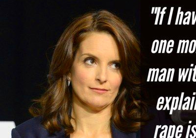 Feminist Celebrity & Quotes : 21 Brilliant Tina Fey Quotes ...