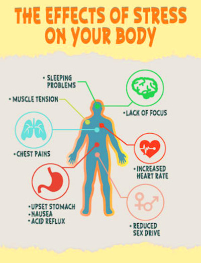 Stress: Effects on your Body and Mind - Konect Health