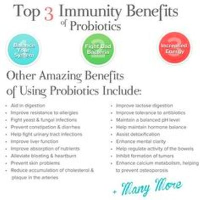 Probiotic benefits - tips on Pinterest | Fermented Foods, Kefir and ...