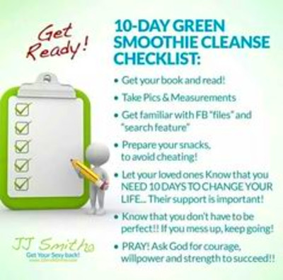 10-day green smoothie [cleanse]! on Pinterest | Green Smoothie Cleanse ...