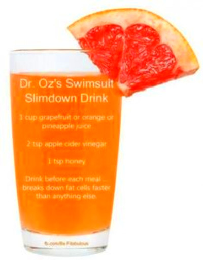... Fitness, Weight Loss, Dr. Oz, Dr Oz S, Slimdown Drink, Slim Down Drink