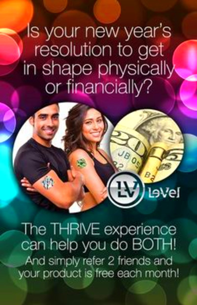 le vel thrive experience newyearsresolution thrive level thrive thrive ...