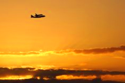 Farewell, Discovery. Space shuttle Discovery's final flight atop a ...