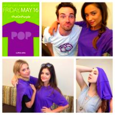 ... lupus awareness and tell people why www lupus org action put on purple