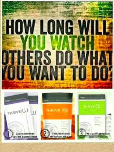 Rise and Thrive!! Who's ready to join me on this Amazing Thrive ...