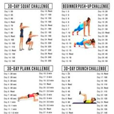 Cool 30 Day Ab Squat Challenge Workout - 30 Day Fitness Challenge ...