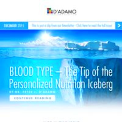Adamo Personalized Nutrition - Blood Type Diet - Personalized ...