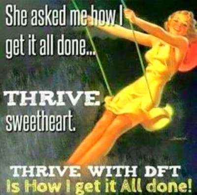 www.getonthrive.le-vel.com Every morning I take my pills ...