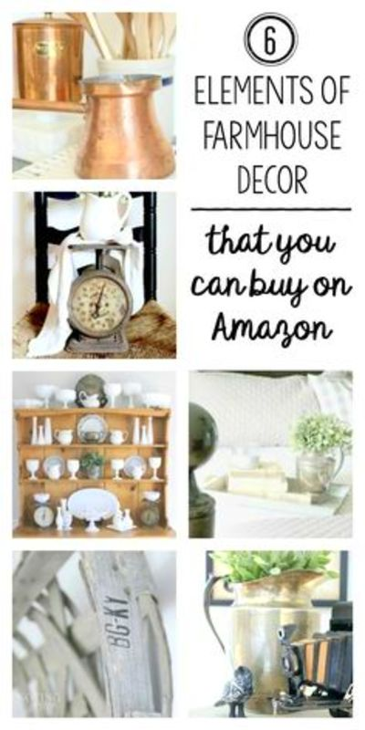 Farmhouse essential Elements that you can buy from Amazon