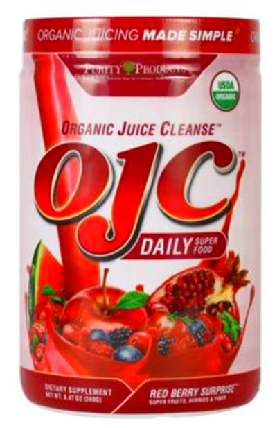 organic juice cleanse ojc plus berry surprise top 10 best organic ...