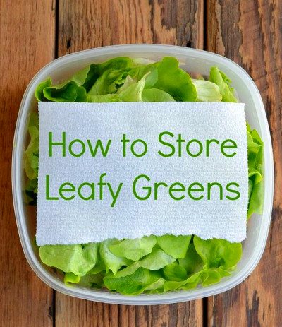 How to Store Leafy Greens | Money, Vegetables and Too late
