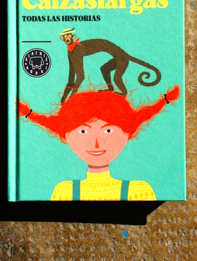 Pippi Calzaslargas by Astrid Lindgren :: I know a certain someone who ...