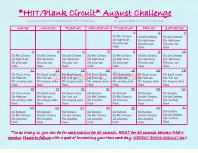 explore monthly challenges workout challenges and more