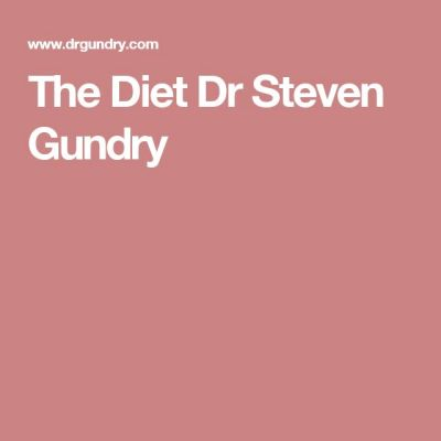 dr gundry leaky gut diet