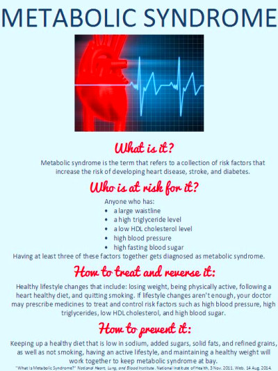 17 Best images about Metabolic Syndrome on Pinterest | Infographic, High cholesterol and Food ...