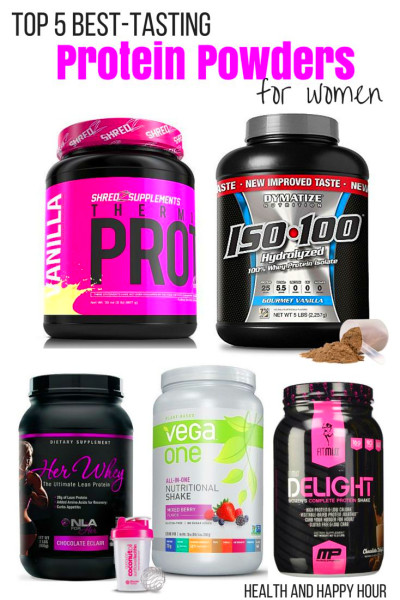 Top 5 Best Tasting Protein Powders For Women | Powder, For women and Happy