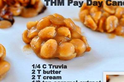 "Low Carb ""Payday"" Candies 
