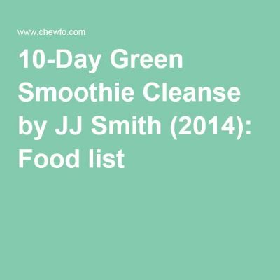 Green Smoothie Cleanse on Pinterest | Smoothie cleanse, Green smoothie ...