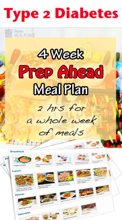 4 week 'Prep Ahead' Ready-Made meal plan - make your low ...