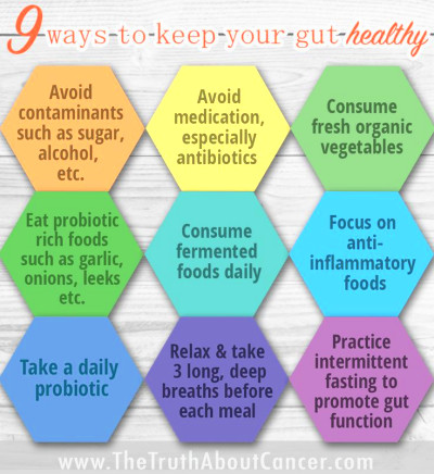 vegetables 4) Eat probiotic rich foods 5) Consume fermented foods ...