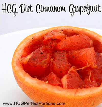 HCG Phase 2 Cinnamon Grapefruit | Recipe | Sweet, The o ...