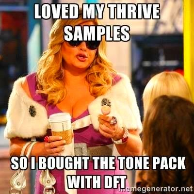 Get your Tone Pack with DFT today at lvthrivenation.le-vel.com ...